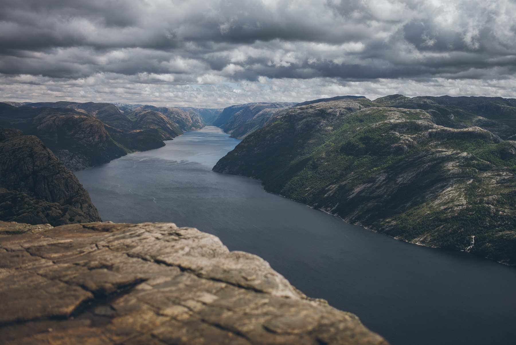 Preikestolen - Exploring Norway in a VW California